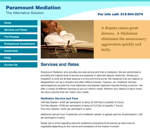 pmediate website